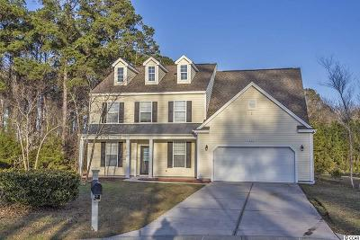 Myrtle Beach SC Single Family Home For Sale: $299,900