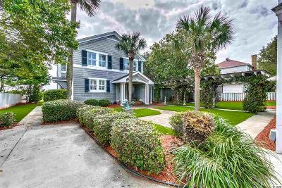 Myrtle Beach Single Family Home For Sale: 4306 North Ocean Blvd