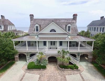 Pawleys Island Single Family Home For Sale: 607 Beach Bridge Road
