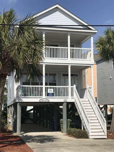 Surfside Beach Single Family Home For Sale: 312 B N Ocean Blvd