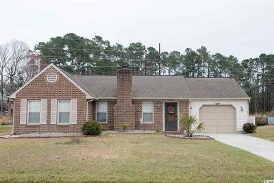 Murrells Inlet Single Family Home Active-Pend. Cntgt. On Financi: 214 Sandpiper Court