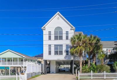 North Myrtle Beach Single Family Home For Sale: 204 24th Ave N