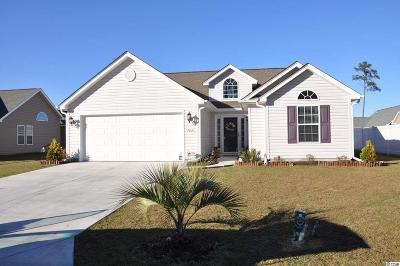 Murrells Inlet Single Family Home Active-Hold-Don't Show: 166 Woodland Park Loop