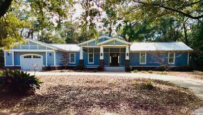 Murrells Inlet Single Family Home For Sale: 827 Sawmill Road