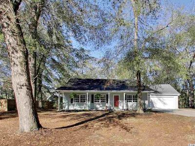Pawleys Island Single Family Home Active-Pend. Contingent Contra: 775 Old Plantation Drive