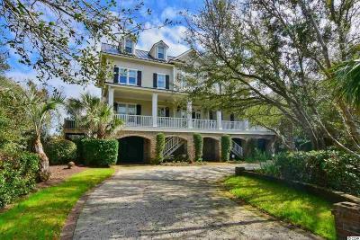 Pawleys Island Single Family Home For Sale: 727 Beach Bridge Road