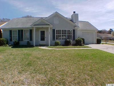 Murrells Inlet Single Family Home Active-Pend. Cntgt. On Financi: 1638 Wood Thrush Drive