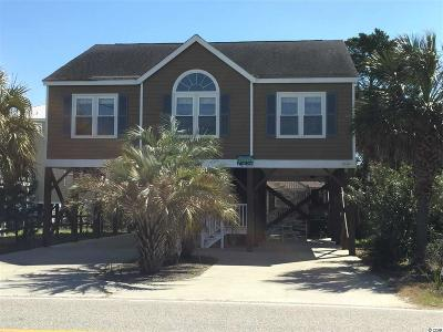Garden City Beach Single Family Home For Sale: 413 S Underwood Rd