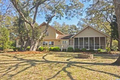 Murrells Inlet Single Family Home For Sale: 767 Mt. Gilead Road