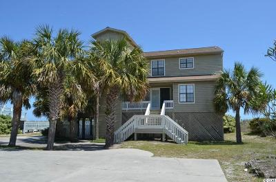 Garden City Beach Single Family Home For Sale: 2153 S Waccamaw Drive