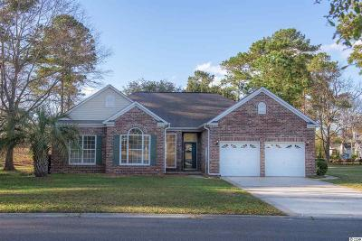 Murrells Inlet Single Family Home For Sale: 9602 Indigo Club Drive