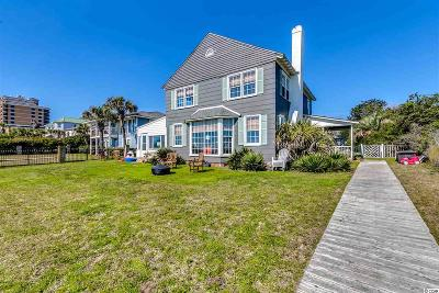 Myrtle Beach Single Family Home For Sale: 6210 N Ocean Blvd