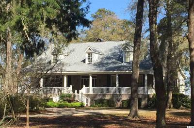 Pawleys Island Single Family Home Active-Pend. Cntgt. On Financi: 73 Rice Bluff Road