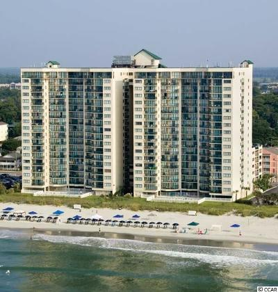 North Myrtle Beach Condo/Townhouse For Sale: 201 S Ocean Boulevard #1208