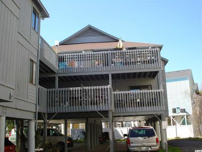 Garden City Beach Condo/Townhouse For Sale: 815 N Waccamaw Drive #5