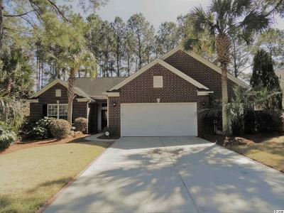 Murrells Inlet Single Family Home For Sale: 6317 Longwood Drive