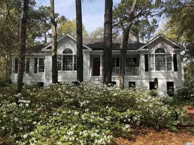 Murrells Inlet Single Family Home For Sale: 5465 Huntington Marsh Road