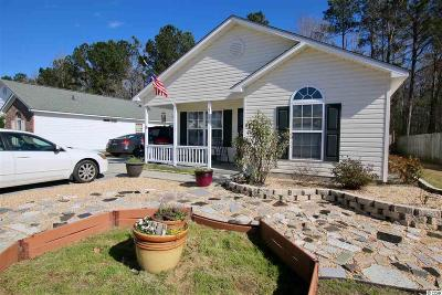 Murrells Inlet Single Family Home For Sale: 9696 Conifer Lane