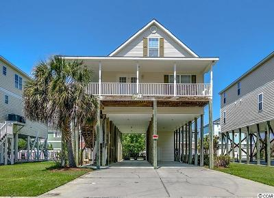 North Myrtle Beach Single Family Home For Sale: 4714 Surf St