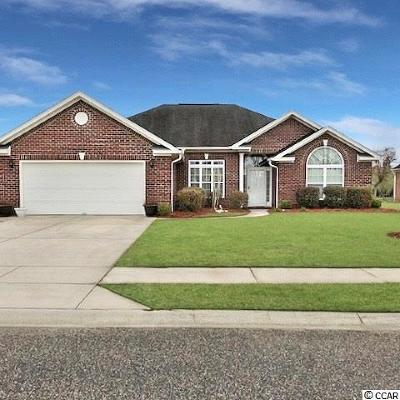 Myrtle Beach Single Family Home For Sale: 3246 Plattmoor Dr