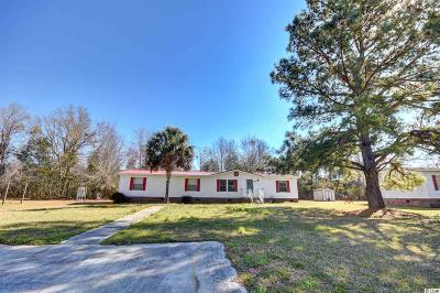 Loris Single Family Home For Sale: 358 Bright Leaf Road
