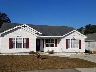 Conway SC Single Family Home For Sale: $149,990