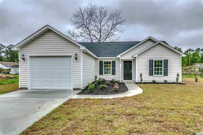 Conway SC Single Family Home For Sale: $156,000