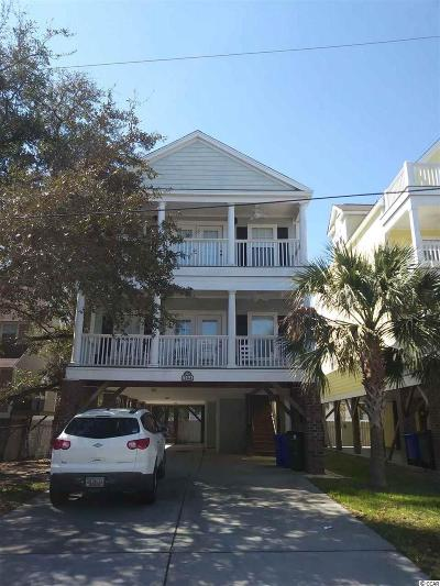 Surfside Beach Single Family Home For Sale: 119-A 15th Avenue South