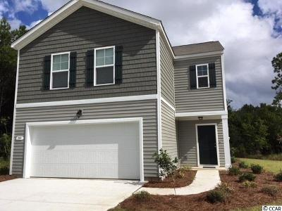 Myrtle Beach Single Family Home Active-Pend. Cntgt. On Financi: Tbd Harmony Lane