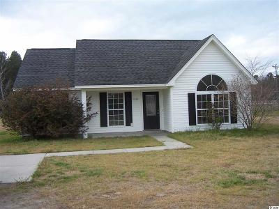 Loris Single Family Home For Sale: 1589 Hwy. 915