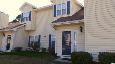 North Myrtle Beach Condo/Townhouse For Sale: 503 20th Ave N #10D