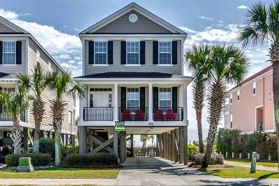 Surfside Beach Single Family Home For Sale: 1019b S Ocean Blvd.