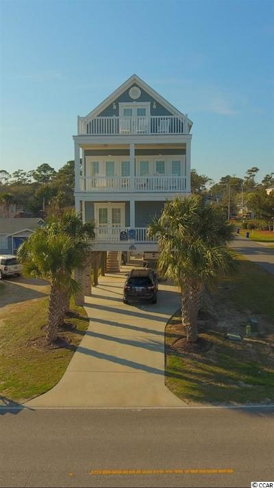Surfside Beach Single Family Home For Sale: 410 S Ocean Boulevard