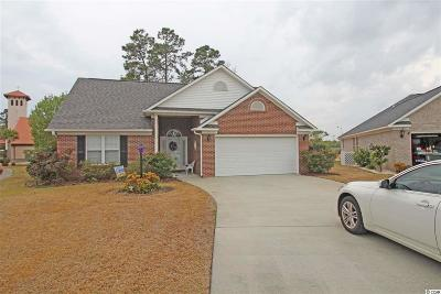 North Myrtle Beach Single Family Home Active-Pending Sale - Cash Ter: 900 Tilghman Forest Drive