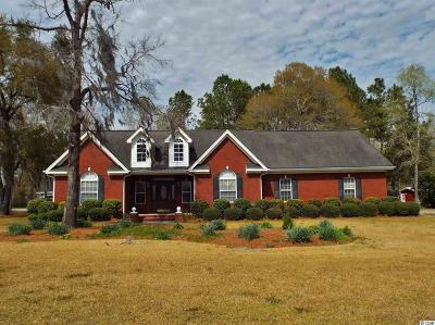 Conway Single Family Home For Sale: 7211 Old Reaves Ferry Rd