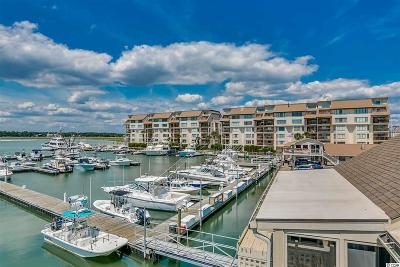 Garden City Beach Condo/Townhouse For Sale: 1398 Basin Drive #510