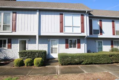 North Myrtle Beach Condo/Townhouse For Sale: 819 Villa Drive #819