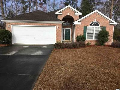 Myrtle Beach Single Family Home For Sale: 804 Encampment Ct