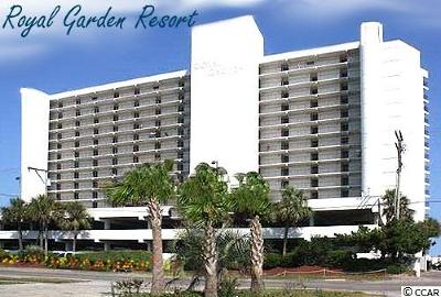 Garden City Beach Condo/Townhouse For Sale: 1210 N Waccamaw Dr #815