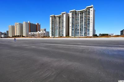 North Myrtle Beach Condo/Townhouse For Sale: 201 S Ocean Blvd #1010