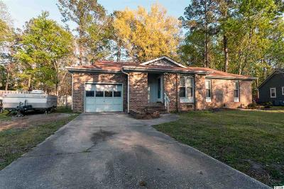 Myrtle Beach Single Family Home For Sale: 116 Quail Hollow Road