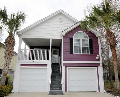 Surfside Beach Single Family Home For Sale: 717 16th Avenue South