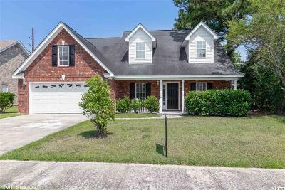 Myrtle Beach Single Family Home For Sale: 308 Fox Catcher Drive