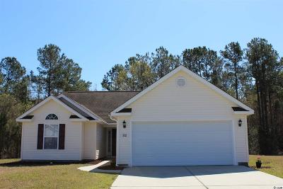 Myrtle Beach Single Family Home For Sale: 512 Coopers Hawk Court