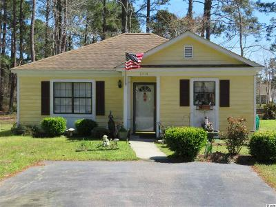 Myrtle Beach Single Family Home For Sale: 6414 Sweet Gum Crescent