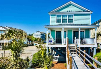 Surfside Beach Single Family Home For Sale: 321-B S Ocean Blvd.