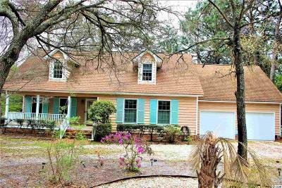 Pawleys Island Single Family Home For Sale: 1001 Crooked Oak Dr