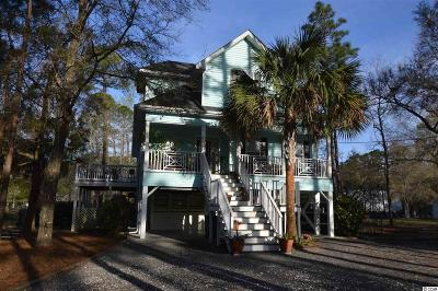 Pawleys Island Single Family Home Active-Pend. Cntgt. On Financi: 595 Kings River Road