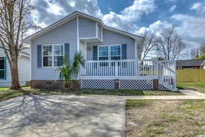 Murrells Inlet Single Family Home For Sale: 809 Marlin Court