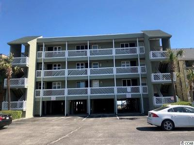 Garden City Beach Condo/Townhouse For Sale: 624 N Waccamaw Drive #C-3